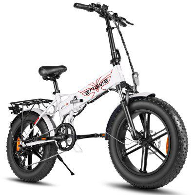 ENGWE EP-2 500W Folding Fat Tire Electric Bike with 48V 12.5Ah Lithium-ion Battery US Image