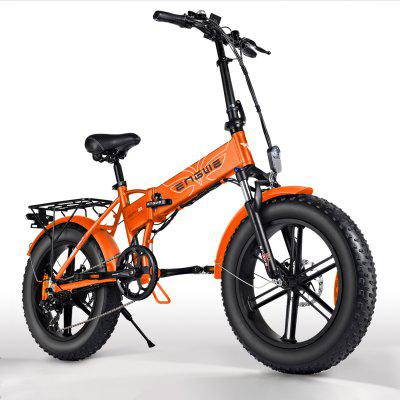 ENGWE EP-2 500W Folding Fat Tire Electric Bike with 48V 12.5Ah Lithium-ion Battery Image