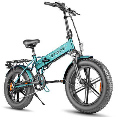 PRESALE-ENGWE EP-2 500W Folding Fat Tire Electric Bike with 48V 12.5Ah Lithium-ion Battery Image