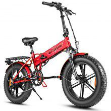 ENGWE EP-2 500W Folding Fat Tire Electric Bike with 48V 12.5Ah Lithium-ion Battery US