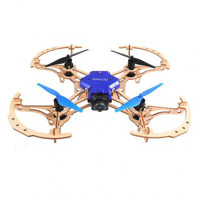 ZL100 DIY Assembled 2.4GHz WIFI Mini RC Drone with 720P Camera Quadcopter Remote Control Toys