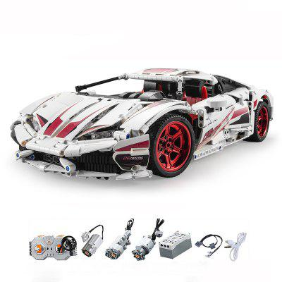 CaDA C61018W 1696pcs Super Sports Car Building Blocks Learning Educational Toy Gifts