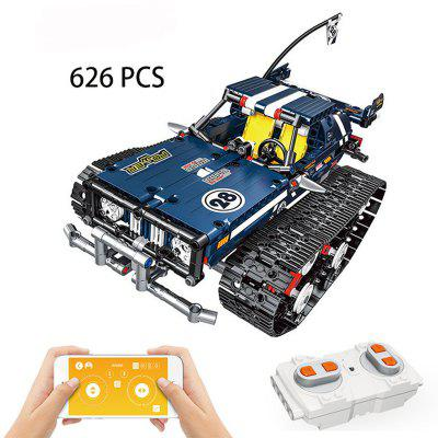 13025 626pcs APP Remote Control Car Technic Building Blocks Bricks RC Tracked Racer Toys