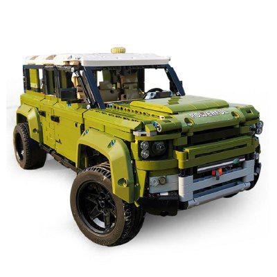 Mould King 13175 2268pcs Technic Series Land Car Rover Off-road Vehicle Model Building Blocks Bricks Educational Toy Gift