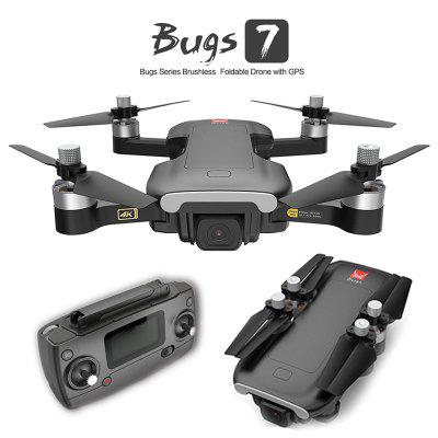 MJX Bugs B7 RC Drone Professional GPS 4K HD Camera Drones With 5G WIFI Optical Flow Positioning FPV Brushless Motor Foldable Helicopter