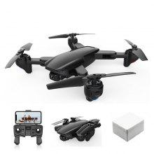 SG701-S 5G WiFi FPV Foldable GPS RC Drone Quadcopter with 4K Dual HD Camera Optical Flow RC Helicopter Toys Mini Drone