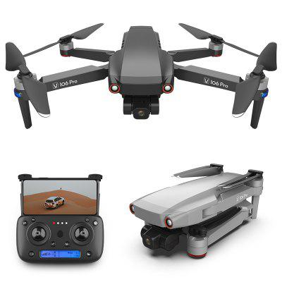 106 Pro GPS Foldable RC Drone Quadcopter 4K HD Camera 3-Axis Gimbal Professional Aerial Photography Toys