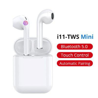 i11 TWS Wireless Earphones  Bluetooth 5.0 Headphones with Charging Case