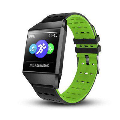 W1C Wristband Bluetooth Blood Pressure Heart Rate Waterproof Smart Watch Bracelet Men Women Sport