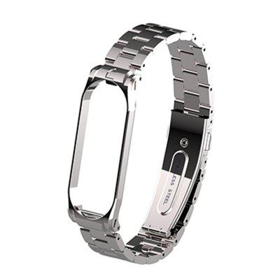 Metal Strap Replacement  Smart Bracelet Steel Band for Mi Band 3 4