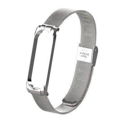 Wrist Strap Metal Screwless Stainless Steel For Xiaomi Mi Band 3 Mi Band 4