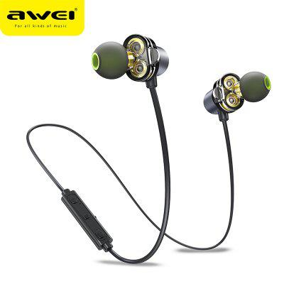 AWEI X650BL Wireless  Bluetooth  Neckband Handsfree Sports Headphone