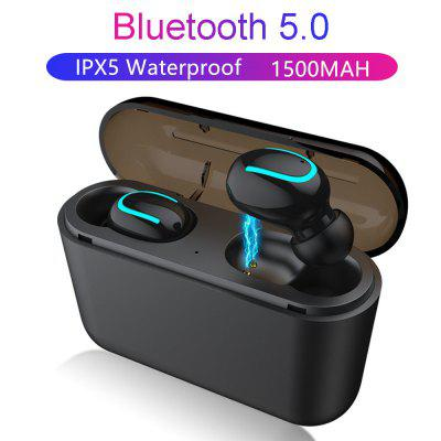 Q32 TWS Wireless Bluetooth Headphones Binaural Sport Earbud With Charging Box