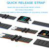 A6 Smartwatch with Heart Rate Monitor Fitness  Blood Pressure Bracelet