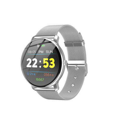 R88 Fashion Smartwatch Round Heart Rate Blood Pressure Oxygen Sleep Monitoring Waterproof Watch
