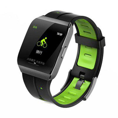 X1 Smartwatch 1.3 Inch Large Display Alloy Case IP68 Waterproof Heart Rate Monitor