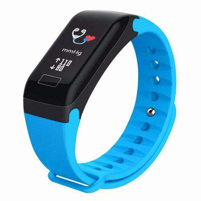 F1 Smartwatch Fitness Bracelet With Heart Rate Blood Pressure Monitor Pedometer SmartWatch