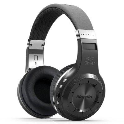 Original Bluedio H Wireless Bluetooth 5.0 Stereo Headphone Foldable Support TF  FM