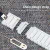 Ceramic Watchband for Apple Watch Band 38mm 42mm Smart Watch Links Bracelet