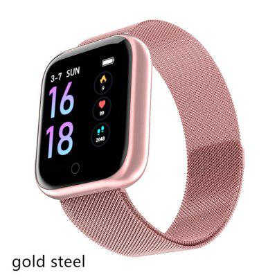 T80 SmartWatch Dazzling Color Screen Bracelet Heart Rate Monitoring Fitness