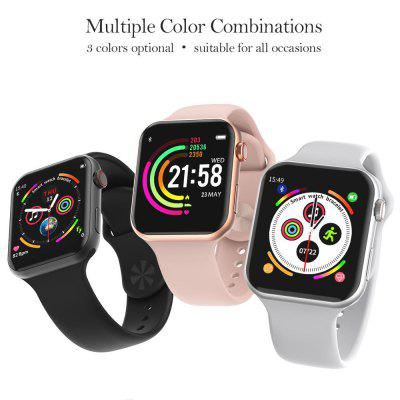 The Best Budget Apple Watch Replacement - F10 Bluetooth Smartwatch with ECG Heart Rate Monitor for Only $26.8