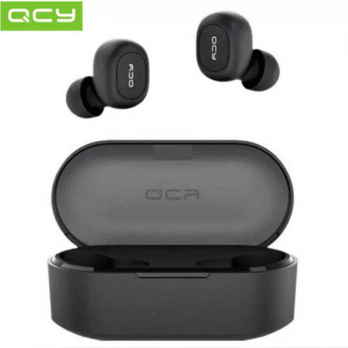 QCY T2S TWS Mini Dual V5.0 Bluetooth Earphones True Wireless Headsets 3D Stereo Sound Earbuds Dual