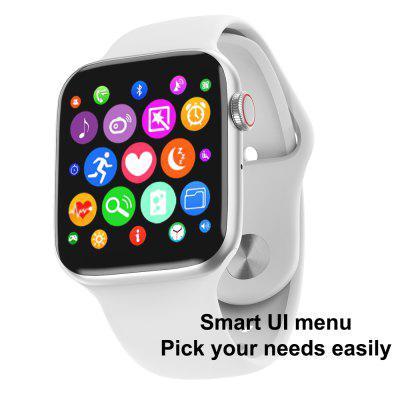 A Great Apple Watch Alternative, W34 Bluetooth Smart Watch ECG Monitor with Full Touch Screen at Only $24.8!