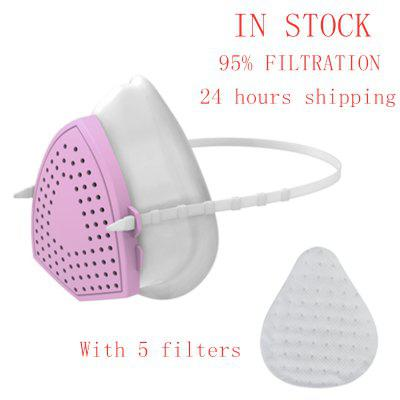 Non-medical Masks Portable Oxygen Machine Sillicon KN95 Mask Dust Mask CE Eertification N95 Mask