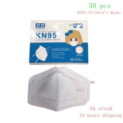 KN95 Children Mask Non woven Dust 3 Layers Anti pollution Non-medical CE certification