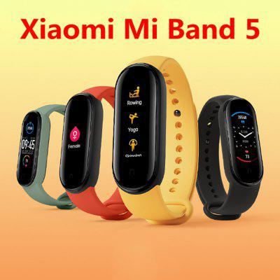Xiaomi Mi Band 5 Armband Hartslagmeter Fitness Tracker 1.2Inch Amoled Screen Miband 5 Smart band