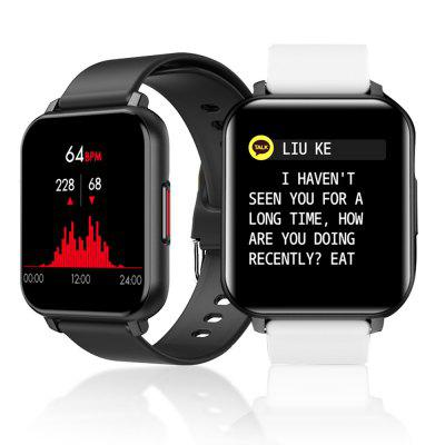 1.55 inch T82 Smart Watch Full Touch Screen Sports Fitness Smartwatch Heart Rate Monitor honor band 6 smart wristband 1 47 inch amoled touch screen professional sports fitness tracker heart rate blood oxygen monitor long standby smart watch