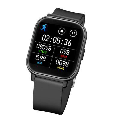 GTR Watch Smart 1.55inch Screen Heart Rate Blood Pressure Watches Sports Bluetooth women Smartwatch real-time body temperature