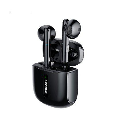 Lenovo XT83 TWS Bluetooth 5.0 Wireless Earphone Stereo Touch Control with 300mAh Charging Case Gaming Headset With Mic