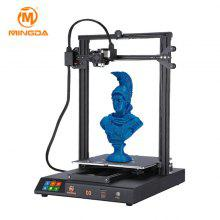 MINGDA D3 DIY 3D Printer with High Performance for Beginner and Education