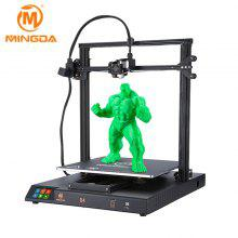 MINGDA D4 DIY 3D Printer with Large Printing Size for Office and Education