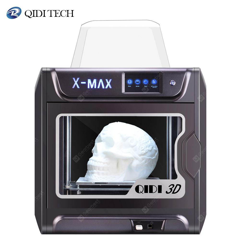 QIDI TECH Large Intelligent Industrial Grade X-max 3DPrinter 5InchTouchscreenprint300x250x300mm