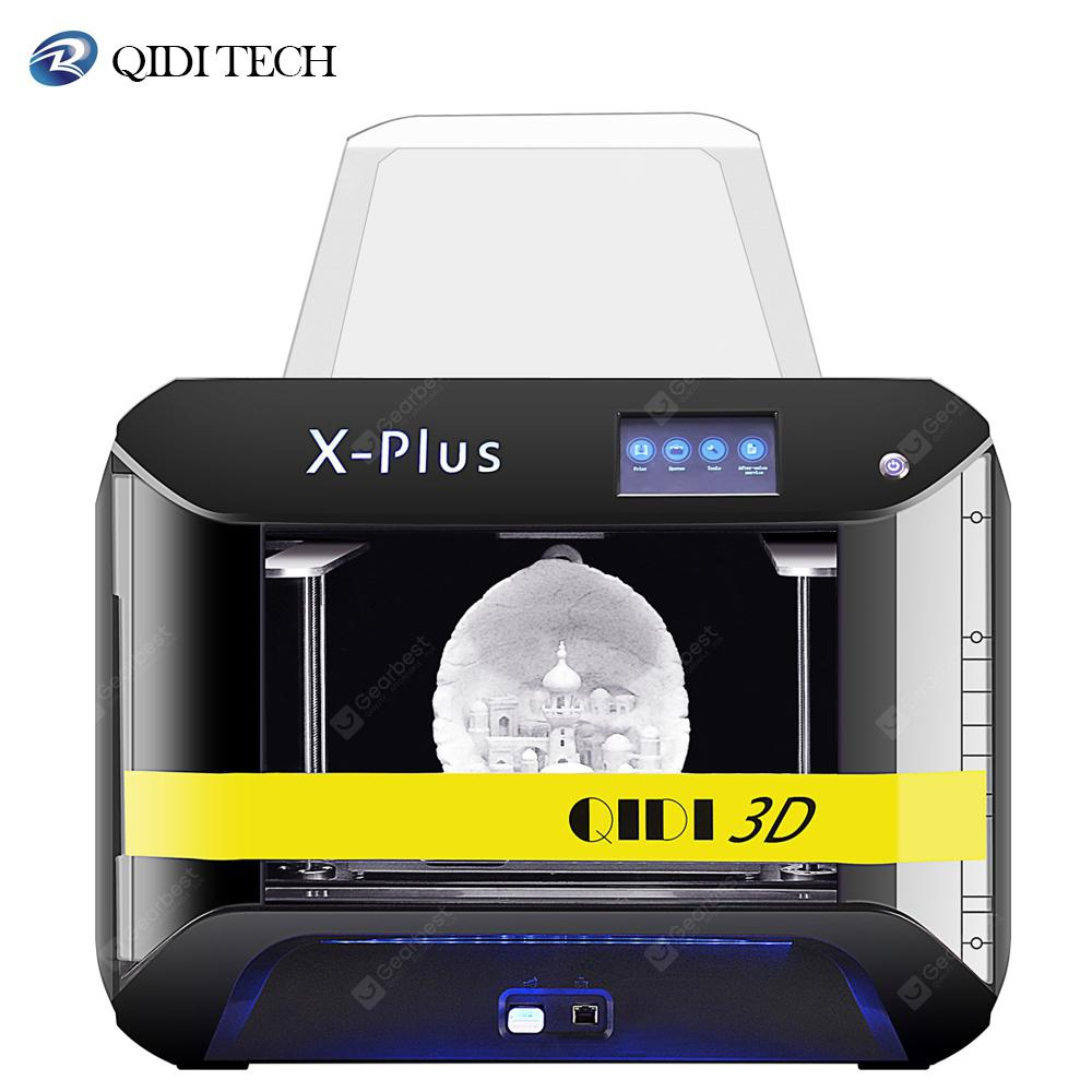 QIDI TECH Large X-Plus Intelligent Industrial Grade 3DPrinter printingwith10.6x7.9x7.9Inch