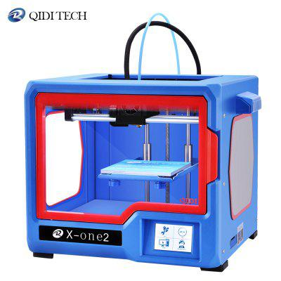 QIDI TECH X-ONE2 3D Printer Fully Metal Structure 3.5 Inch Touchscreen heat bed print with PLA ABS
