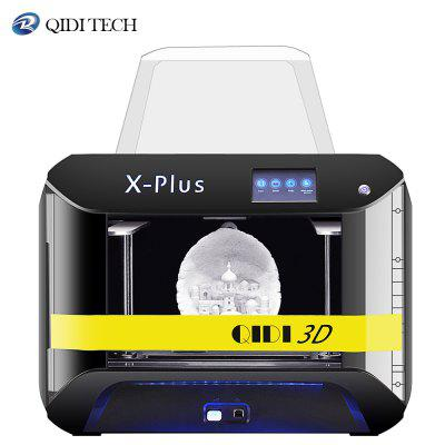 QIDI TECH Large X-Plus Intelligent Industrial Grade 3D Printer printing with 10.6x7.9x7.9 Inch