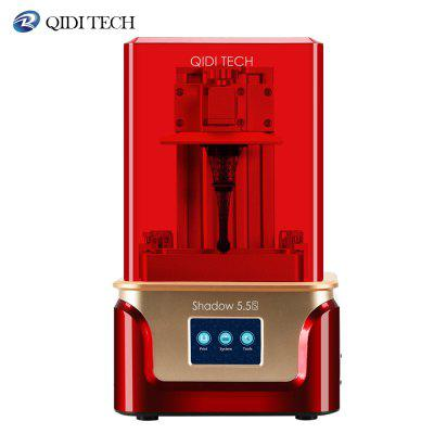 QIDI TECH LCD 3D Printer Shadow 5.5 S UV LCD Resin Printer with Dual z axis Liner Rail
