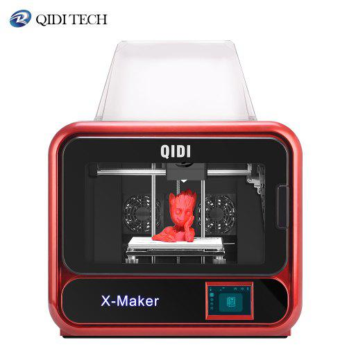 QIDI TECH High end X Maker 3D Printer focus on Homes Education Built-in Camera Monitor Technology