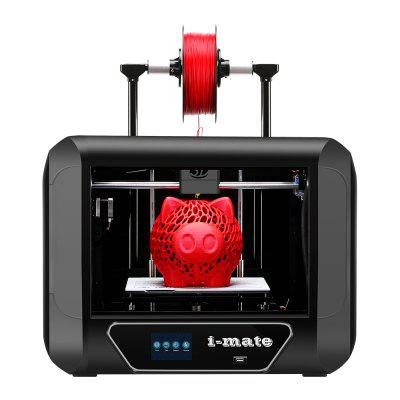 QIDI TECHNOLOGY i Mate 3D Printer Metal Frame with Upgrade Extruder and Professional Software Print PLA PETG  TPU Size 260X200X200mm
