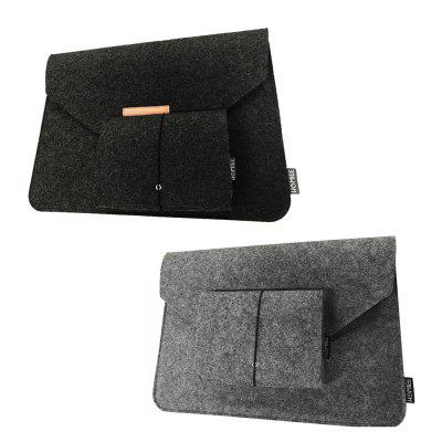 LS1501B  Sleeve Case Cover for Laptop 15 inch Bag with Mouse Pouch for Apple MacBook
