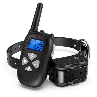 P12 1 to 2 Bark-stop Collars 450m Remote Control Electric Shock Dog Trainer
