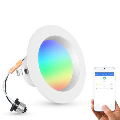 Tdbest Colorful Ceiling Downlight 9W APP Remote Control Bluetooth Smart Lamp
