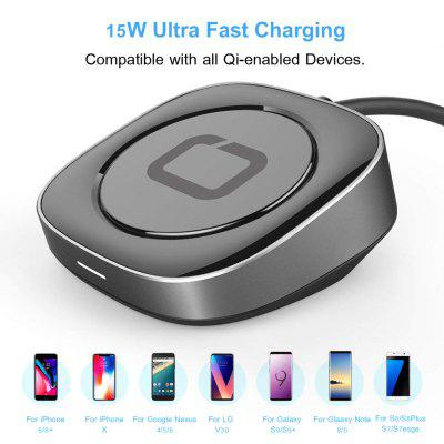 AC51  15W  Wireless Quick  Charger Fast  Dock Charging Stand  Holder