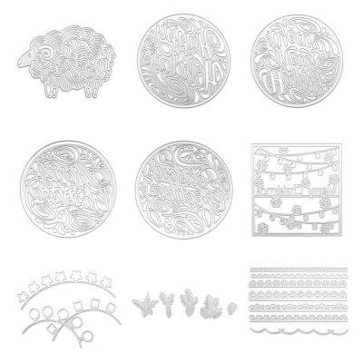 Metal Cutting Dies Stencils for DIY Scrapbooking Photo Album Christmas Card