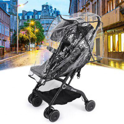 Baby Stroller Waterproof Rain Cover Pushchair Transparent Wind Dust Shield