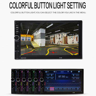 7 inch Player MP5 1080P Digital Display Bluetooth 2din Car Backup Monitor