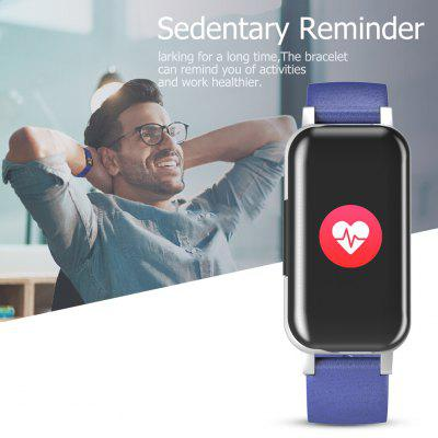 T89 TWS Binaural Bluetooth Headphone Heart Rate Monitor Wristband Watch